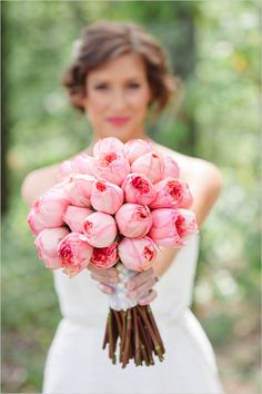 pink rose bouquet by Fifty Flowers