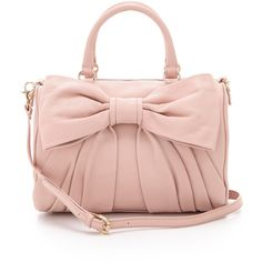 RED Valentino Bow Duffle Bag ($650) ❤ liked on Polyvore