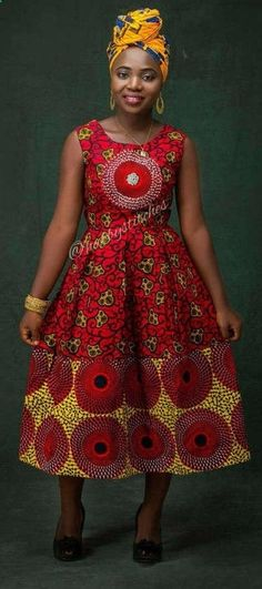45 Fashionable African Dresses Discover the hottest ankara African dresses you need this season. Everything from peplum, bubble sleeves, and flare to mixed African print. This season's hottest styles & where to get them are in one convenient post. African Dresses For Women, African Print Dresses, African Print Fashion, Africa Fashion, African Attire, African Fashion Dresses, African Wear, African Women, African Clothes