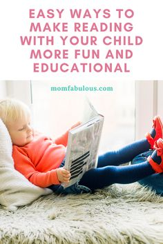 Easy Ways to Make Reading with Your Child More Fun and Educational Kids Lunch For School, Healthy Lunches For Kids, Back To School Hacks, School Tips, School Lunches, Parenting Toddlers, Parenting Hacks, Good Listening Skills, Celebrities Reading