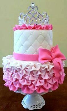 Cute princess cake.