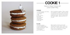 #collection of 6 #cookie #recipes, like #thin_mint, #shortbread, #almond and #ginger
