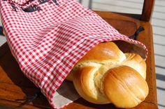 Taburettli: Brotbeutel /-korb