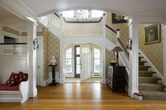 decorology: Entryways and staircases - basics that should not be ignored