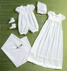 CHRISTENING GOWN PATTERN Baptism Dedication by whatcamefirst