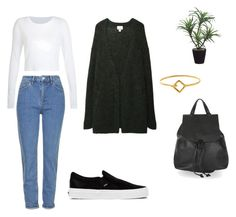 // Fall // by frcxareli on Polyvore featuring Acne Studios, Topshop, Vans and Toast