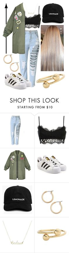 """""""Urban Chic"""" by eliza-winstanley ❤ liked on Polyvore featuring adidas Originals, Nordstrom and J.W. Anderson"""