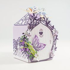 Fairies 3d Projects, Projects To Try, Tonic Cards, Bday Cards, Fairy Doors, Create And Craft, Craft Box, Craft Items, Homemade Cards