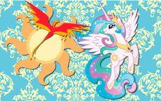 Princess Celestia wallpaper 8 by AliceHumanSacrifice0.deviantart.com on @DeviantArt