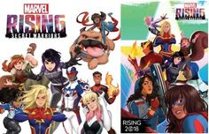 Marvel Rising Secret Warriors feature