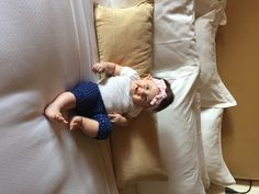 """Our baby Kenleys first time at Pelican. A king size bed all to herself! She loved her stay, as did we. Thanks again."" Thank you for sharing your favorite #PelicanHill memory with us, Abby!"