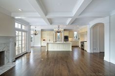 images antique white kitchen with large island | ... of Kitchens - Traditional - Off-White Antique Kitchens (Kitchen #78