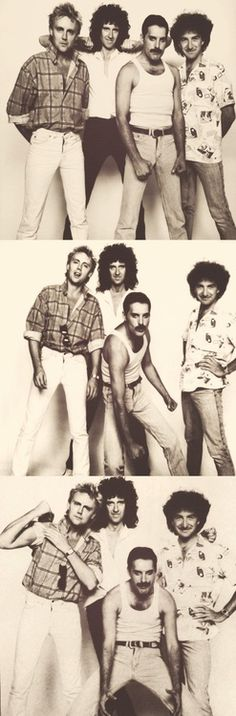 Queen Roger, Brian, Freddie and John. Looks like Freddie couldn't quite keep on fighting till the end, the way he's sagging. Discografia Queen, Queen Band, I Am A Queen, Save The Queen, Rock Queen, John Deacon, Queen Pictures, Queen Photos, Cool Bands