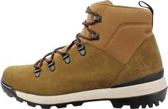 Mens Boots adidas Outdoor Trailcruiser Mid Brown Oxide/Black/Chalk White