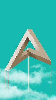 heavily inspired by the game Monument Valley #abduzeedo #wallpaperoftheweek