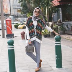 Trendy ideas for style hijab casual pantai Summer Fashion Outfits, Summer Outfits Women, Trendy Fashion, Trendy Style, Hijab Fashion, Muslim Fashion, Fashion 2020, Simple Style, Hijab Casual