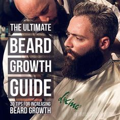 The most comprehensive guide on increasing beard growth available anywhere. Learn how to stimulate beard growth with grooming, diet, and beard care products.
