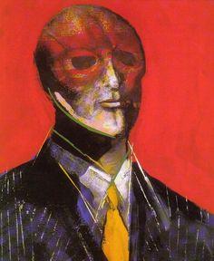 Marshall Arisman - Painting on Canvas