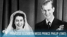 Relive the Royal Wedding of 1947 between young Princess Elizabeth and Prince Philip. For more videos on Queen Elizabeth II, including more wedding festivitie. Princess Alice, Princess Elizabeth, Princess Victoria, Queen Elizabeth Ii, Jane Eyre, Queen Victoria Family Tree, Royal Family Portrait, Family Portraits, Longest Marriage