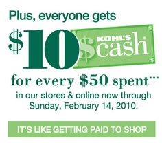 Kohl's Cash – Loyalty or Bribery (and do Icare?)