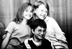 cuando apenas recibieron la carta de Hogwarts jaja