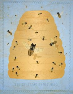 The Bustling Honey Bees