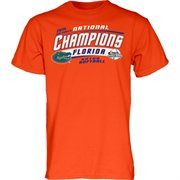 Florida Gators 2014 NCAA Women's Softball College World Series Champions T-Shirt - Orange
