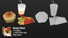 LOWPOLY (sub 1000~ triangle models) - Page 60 - Polycount Forum