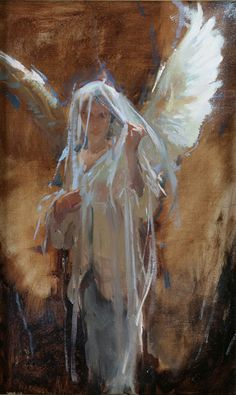 Dan Gerhartz is known for his romantic, touching oil paintings of people. fine art for the home, romantic paintings, original fine art, original oil paintings, art by Dan Gerhartz, home decor, paintings of people, women in art, angels, Christian art