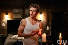 """""""The Turning Point"""" - Paul Wesley as Stefan in THE VAMPIRE DIARIES on The CW. Photo: Quantrell Colbert/The CW �2009 The CW Network, LLC. All Rights Reserved.pn"""