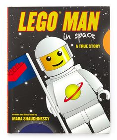 Another great find on #zulily! LEGO Man in Space Hardcover by Skyhorse Publishing #zulilyfinds