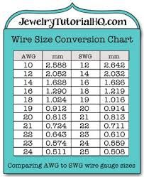 Jewelry wire wire gauge size conversion chart conversin de image result for cord gauges for jewelry making greentooth Choice Image