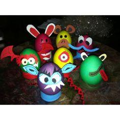 Monster Easter eggs :))