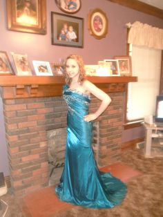 My baby girl.  Prom 2012