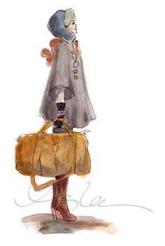 """""""Over the River and Through the Woods""""  ~~  Artist ~Inslee Haynes~  December 22 2010"""