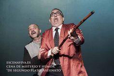 Cenas de misterio Escenaviva, profesionales del humor.