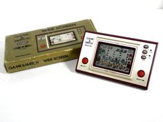 Nintendo Game & Watch Wide Screen Chef FP-24 Boxed MIJ Great Condition F/S_64 #Nintendo