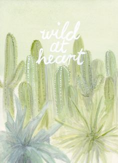 Watercolor Wednesday: Wild at Heart / Glitter Guide