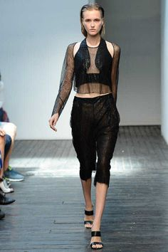 Dion Lee Spring 2015 Ready-to-Wear - Collection - Gallery - Look 1 - Style.com