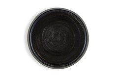 Textured black stoneware with black glaze interior. As a handmade product, no two are the same.