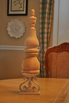 Tutorial...make your own Pottery Barn style finial