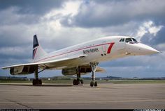 British Airways Concorde.