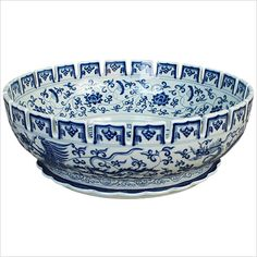 Handmade Porcelain Ming Dynasty Bowl | Porcelain Sinks | Linkasink