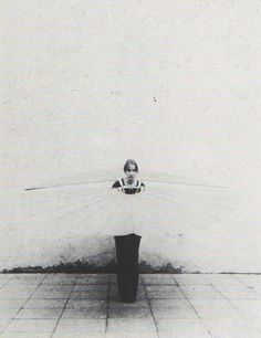 Rebecca Horn - White Body Fan (1972) http://www.flickr.com/photos/brettwalker/page1/