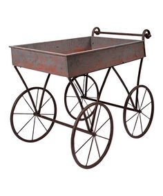 Look what I found on #zulily! Vintage Flower Cart by Foreside #zulilyfinds