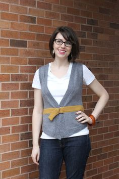 Put a belt on it  - knitting pattern