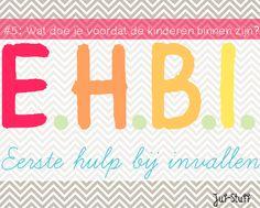 Info voor de invalleerkracht. JufStuff: EHBI #5: wat doe je voordat de kinderen binnen zijn?
