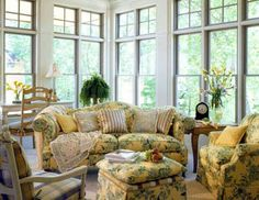 Plants For Sunrooms Traditional Mix In A Sunroom With A Palm - Cottage sunroom decorating ideas mesmerizing sunroom decorating ideas