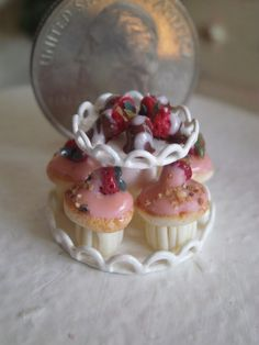Dollhouse Miniature One Inch Scale Snacks by CSpykersMiniatures