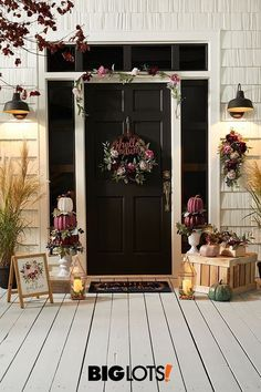 Decorate with the changing season like never before! Our Harvest Cottage fall home decor collection is simple, rustic, and absolutely stunning. Fall Home Decor, Autumn Home, Holiday Decor, Porch Decorating, Cozy House, Decoration, Interior Design Living Room, Farmhouse Decor, Bedroom Decor